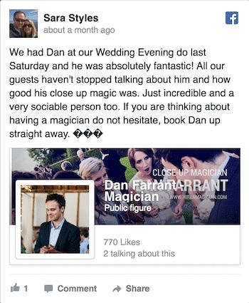 Wedding magicin reviews