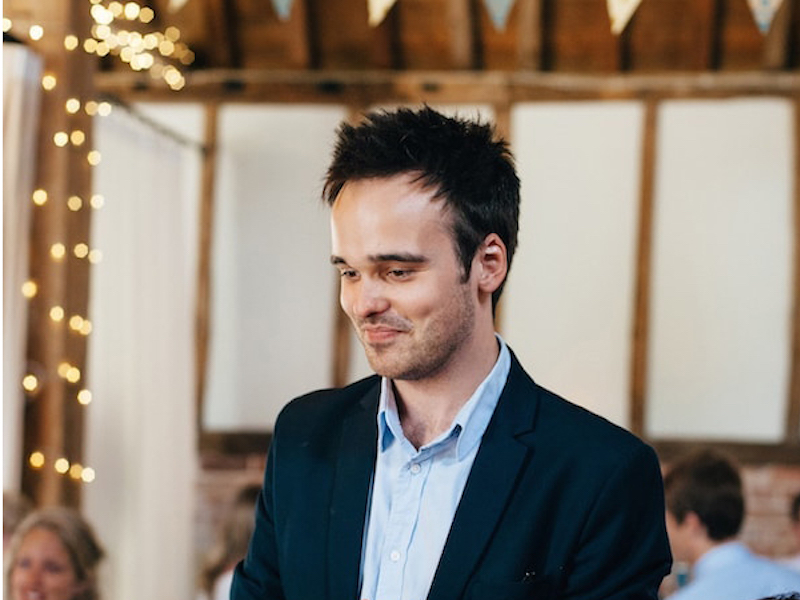 surrey wedding magician dan farrant headshot